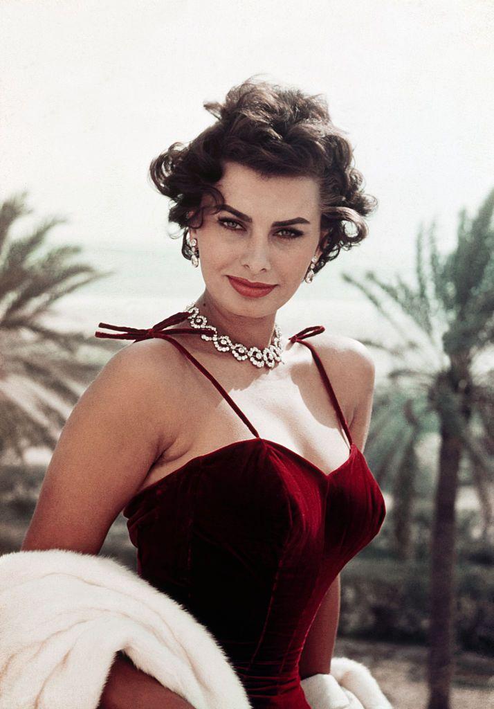 Sophia Loren's Bombshell Style