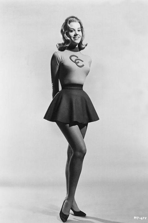 Jane Fonda Full Length as Cheerleader