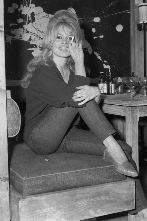 Brigette Bardot Working on Film