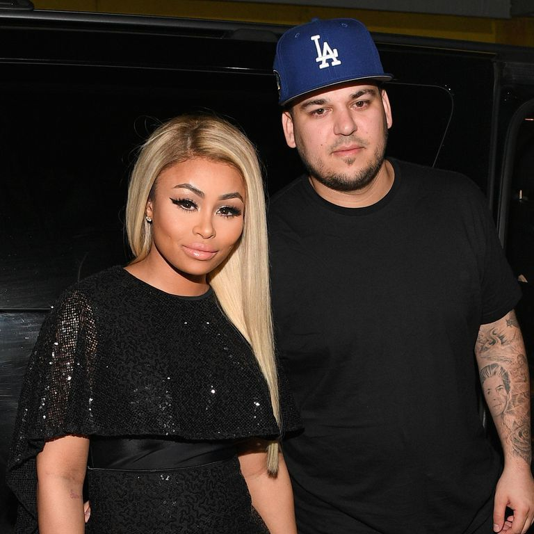Rob Kardashian and Blac Chyna Are Fighting Over Whether or Not Their Daughter Dream Should Be a Reality TV Star