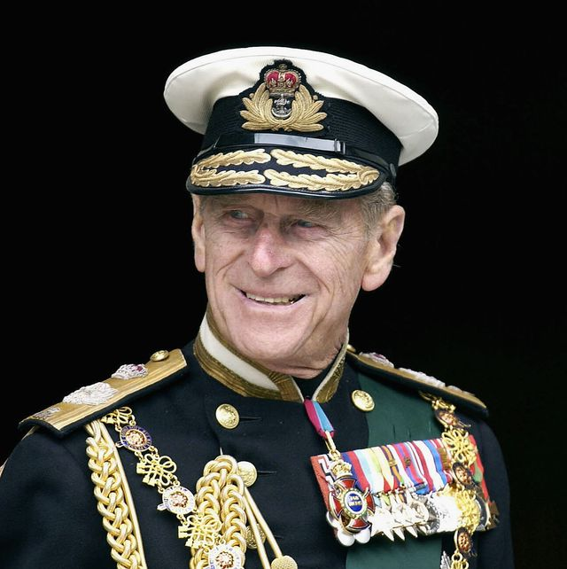 london, england   june 4  file photo  prince philip, the duke of edinburgh leaves the jubilee service at st pauls cathedral wearing naval uniform in this june 4, 2002 file photo in london, england  photo by anwar husseingetty images