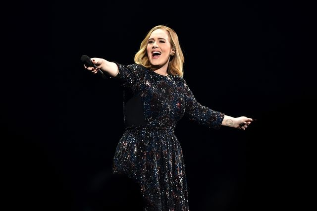 birmingham, england   march 29  adele performs at genting arena on march 29, 2016 in birmingham, england  photo by gareth cattermolegetty images