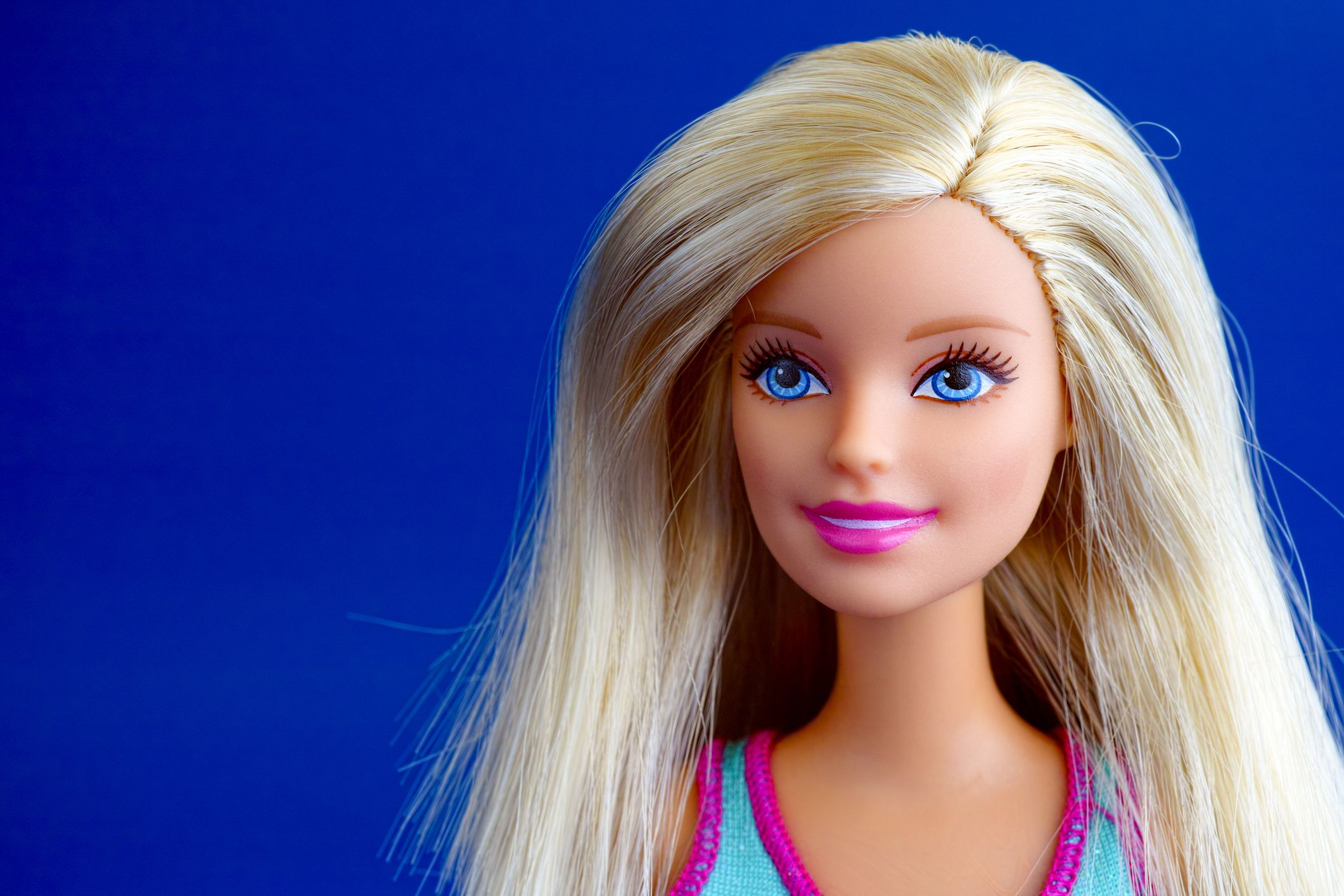 BARBIE DOLL YOU CAN BE ANYTHING,PINK DRESS /& WHITE FLOWERS WITH BLONDE HAIR