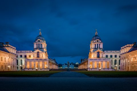 maritime greenwich, royal naval college