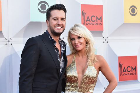 luke bryan and wife caroline boyer's love story - who is luke bryan