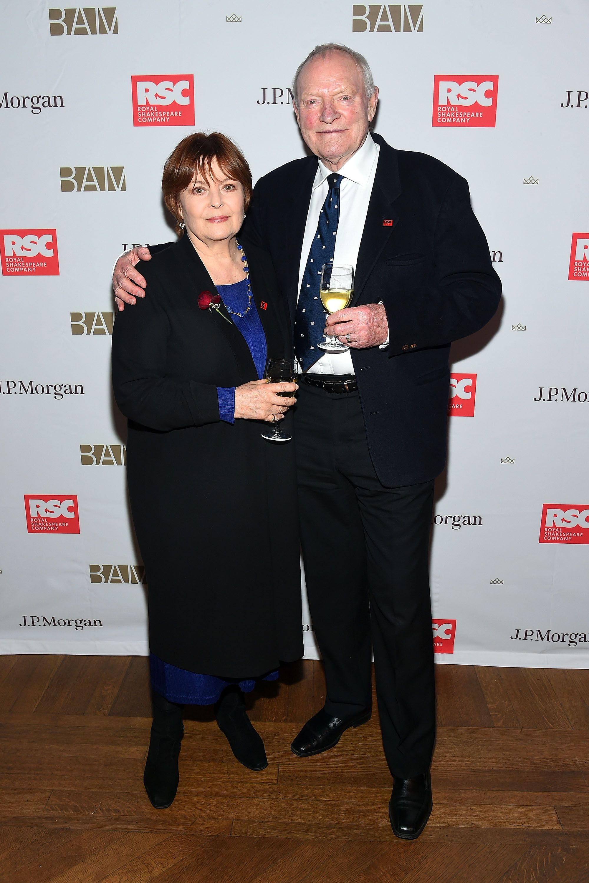 Julian Glover (Grand Maester) and Isla Blair The actors have been married since 1968.