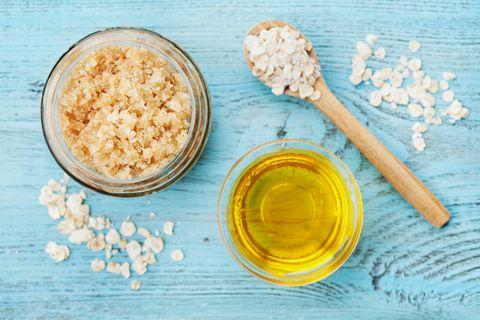 Food, Dish, Cuisine, Ingredient, Oat bran, Baby food, Rice cereal, Superfood, Spoon, Alphabet pasta,