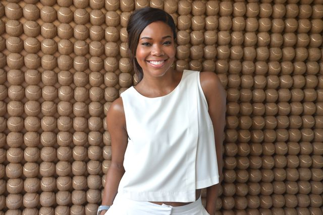 gabrielle union at miami open at crandon park tennis center on april 3, 2016 in key biscayne, florida