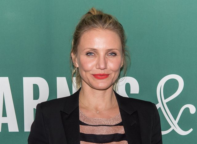 new york, new york   april 06  actress cameron diaz attends her book signing for the longevity book the science of aging, the biology of strength, and the privilege of time at barnes  noble union square on april 6, 2016 in new york city  photo by gilbert carrasquillofilmmagic