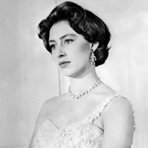 Picture dated 1956 of British Princess Margaret, Q