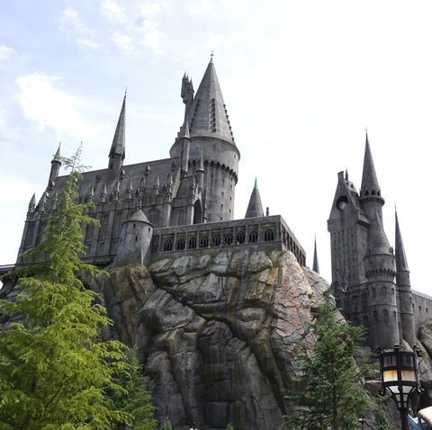 los angeles, usa   april 6 hogwarts is seen in wizarding world of harry potter theme park at universal studios hollywood, in los angeles, usa on april 6, 2016    photo by mintaha neslihan erogluanadolu agencygetty images