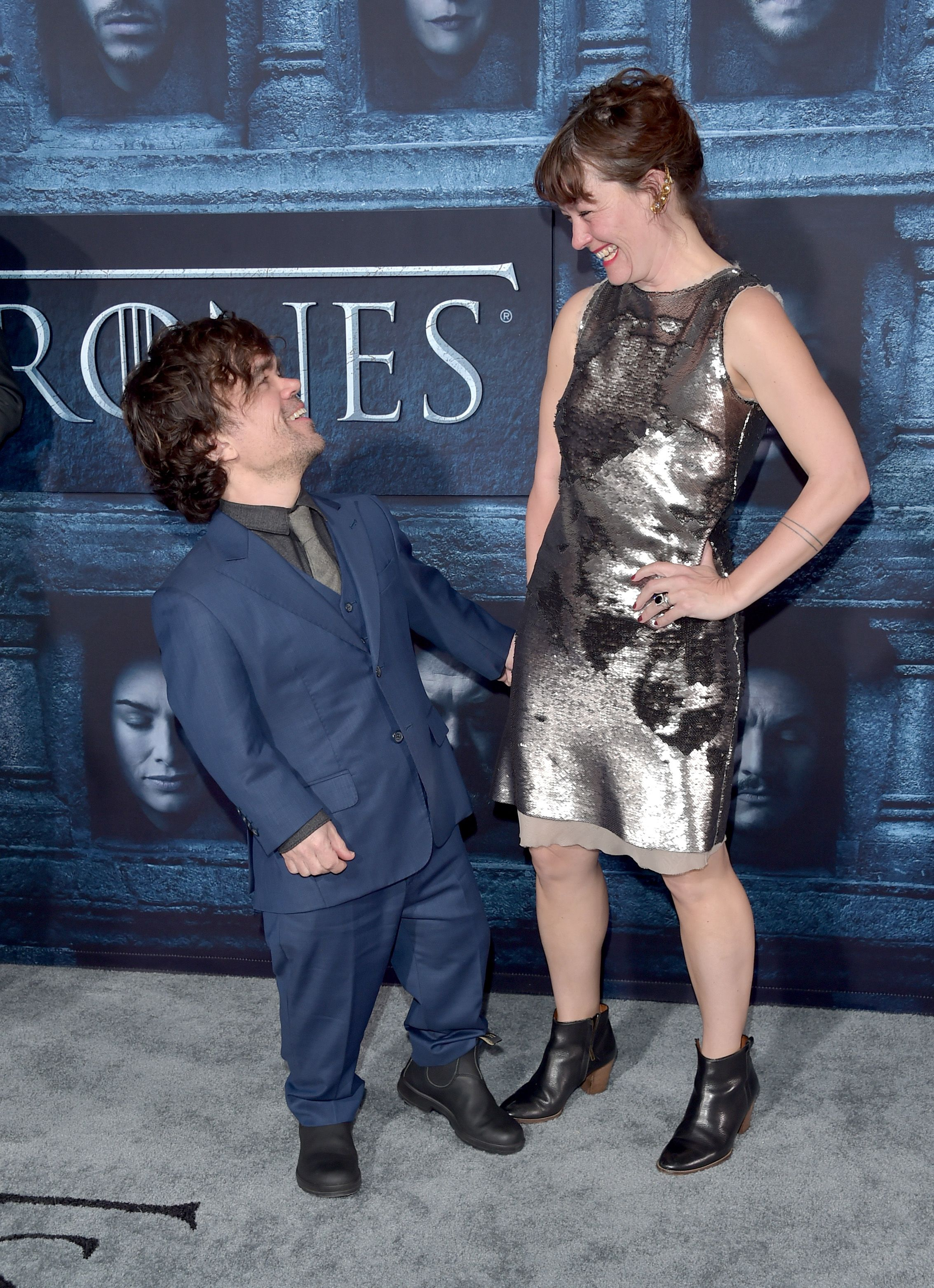 Peter Dinklage (Tyrion Lannister) and Erica Schmidt The couple have been married since 2005 .