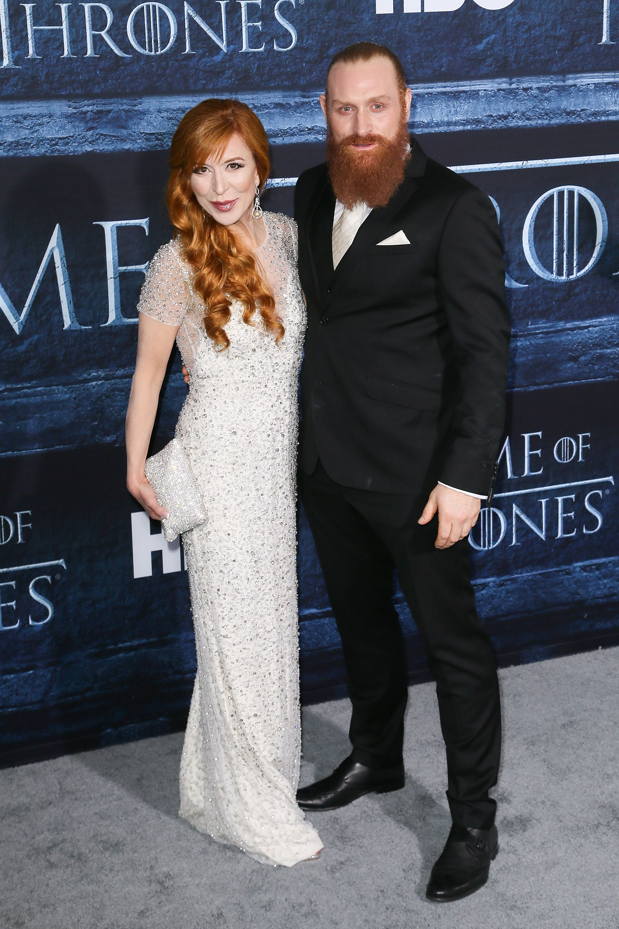 Kristofer Hivju (Tormund) and Gry Molvær Hivju The actor and journalist have been happily married since 2015.
