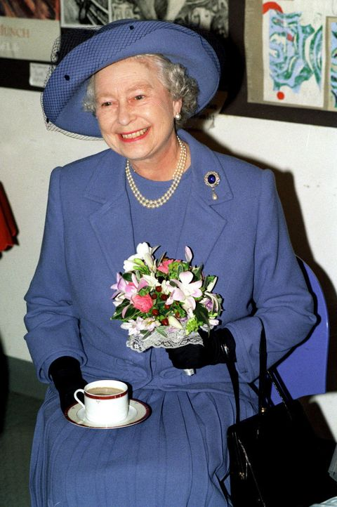 Queen With A Cup Of Tea