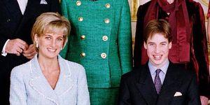 Prinses Diana, Prins William, tiener, puber, verjaardag, genant, verrassing, taart