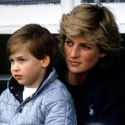 windsor, united kingdom   may 17  princess diana with prince william sitting on her lap at polo  photo by tim graham photo library via getty images