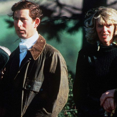 Charles And Camilla In 1979 - Special Fee Applies