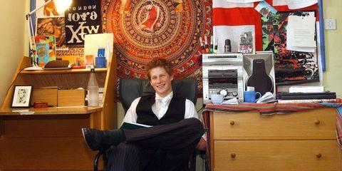 Prince Harry Eton Bedroom