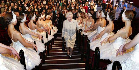 royals at the ballet