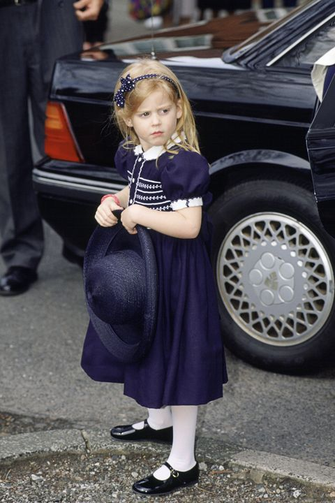 Beatrice At Alison Wordley's Wedding