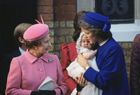 Queen Elizabeth Ii And Queen Anne-marie