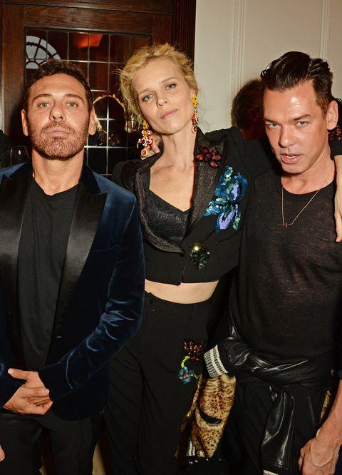 攝影師Mert Alas、Marcus Piggott與超模Eva Herzigova