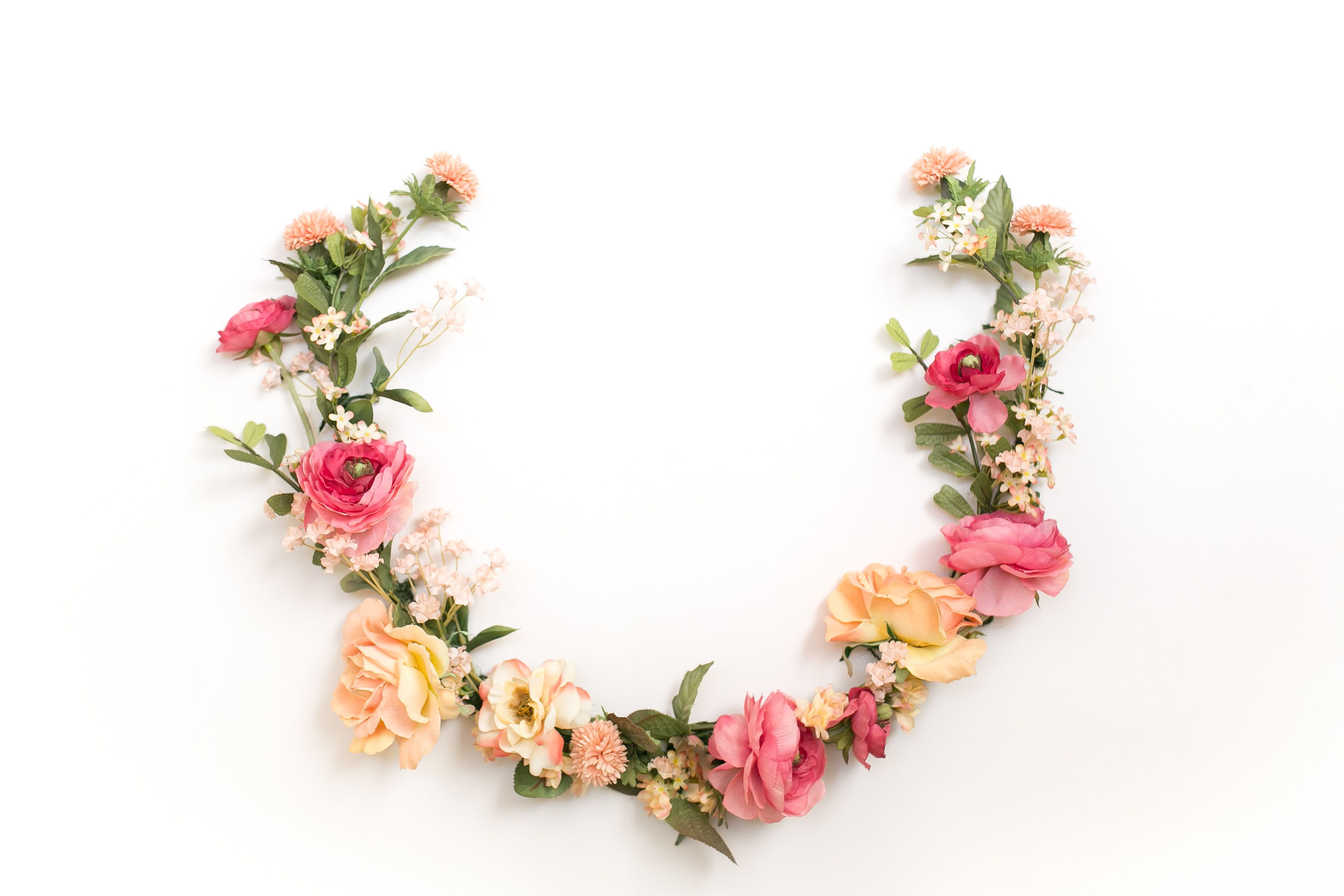 This Is the New Way to Wear a Flower Crown