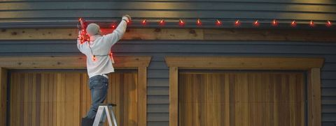 Super How To Hang Outdoor String Lights How To Put Up Christmas Lights Wiring Cloud Pimpapsuggs Outletorg
