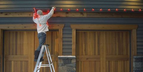 Hanging Christmas Lights How To Hang Christmas Lights Outside