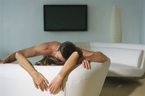 Leg, Skin, Shoulder, Furniture, Arm, Joint, Human leg, Muscle, Long hair, Thigh,