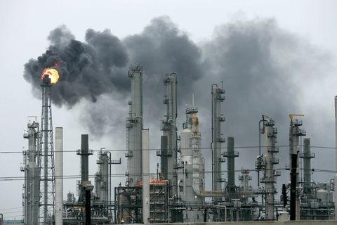 Industry, Factory, Pollution, Smoke, Gas, Public utility,