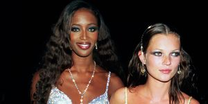 Naomi Campbell Kate Moss De Beers/Versace 'Diamonds are Forever' celebration  June 9 1999 London