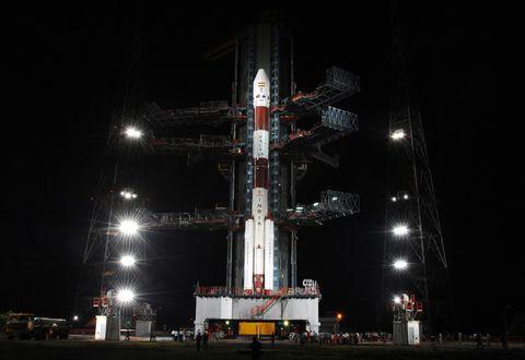 IPSLV India Rocket