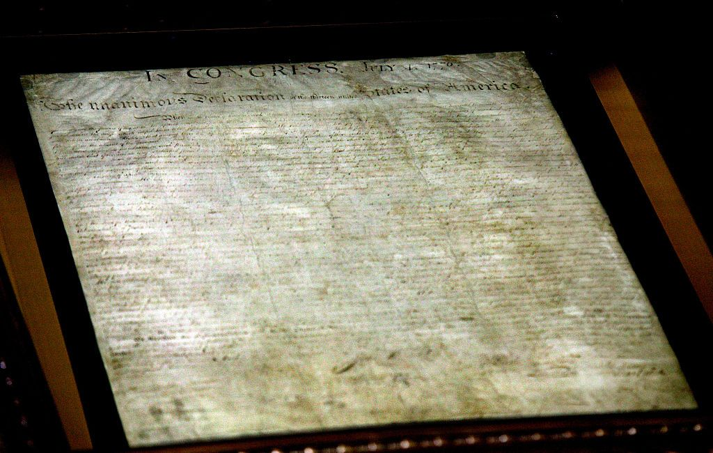The Science of Saving the Declaration of Independence