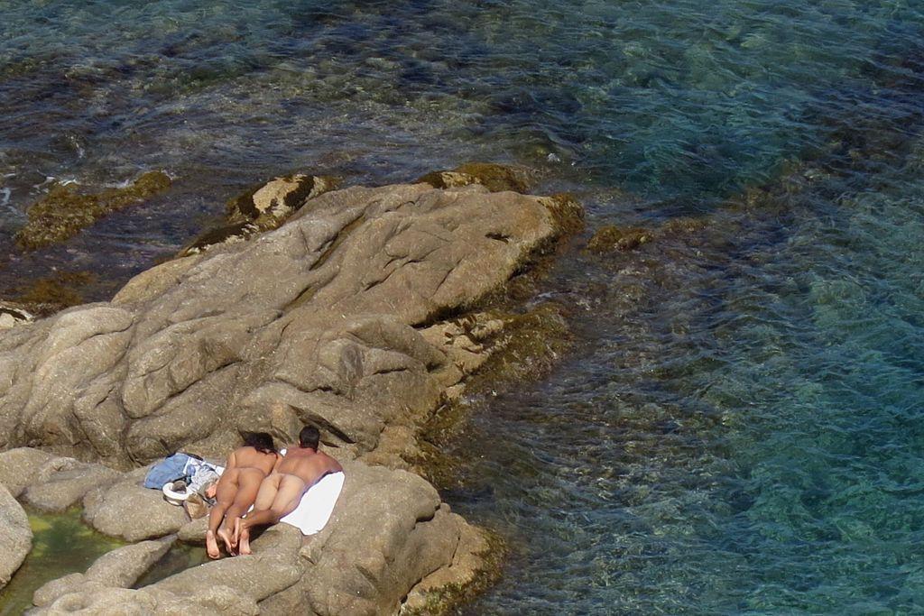 st tropez nude sunbathers