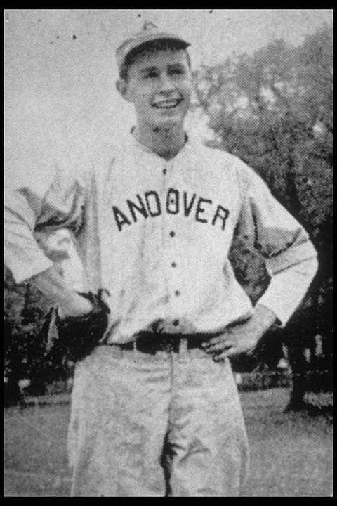 george h w bush andover baseball