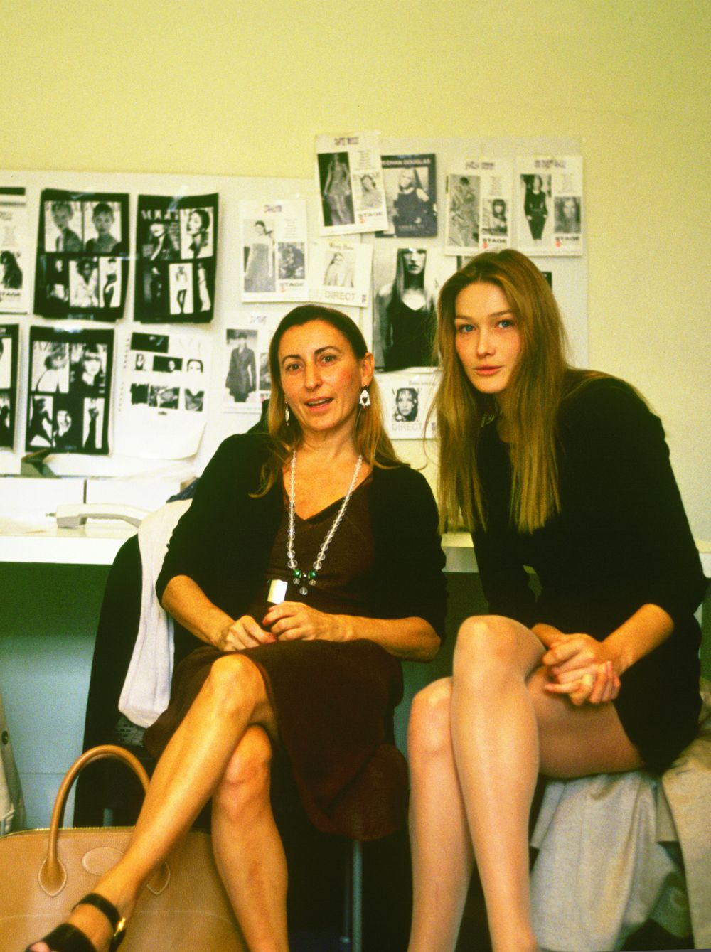"""""""Bellezza non è una donna scollata col suo vestitino tagliato di sbieco"""", Miuccia Prada"""