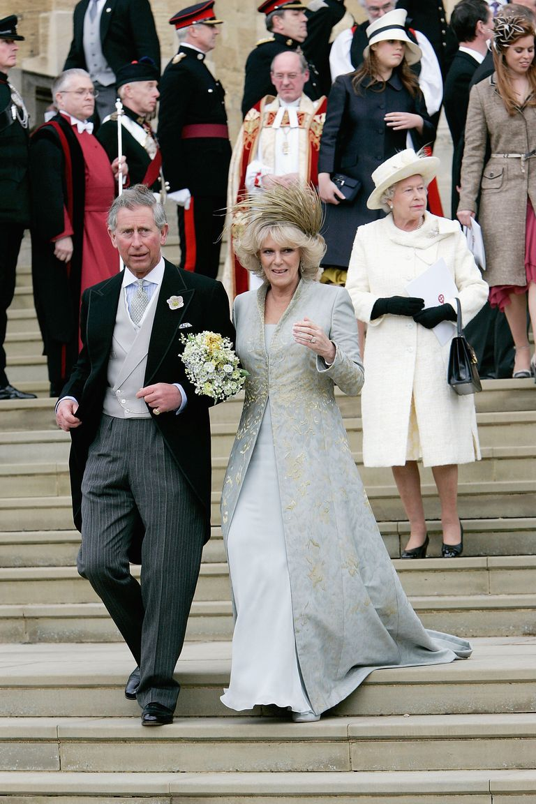 Castle Drawing Room: Prince Charles And Camilla's Wedding