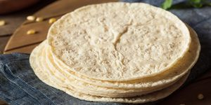 Homemade White Corn Tortillas