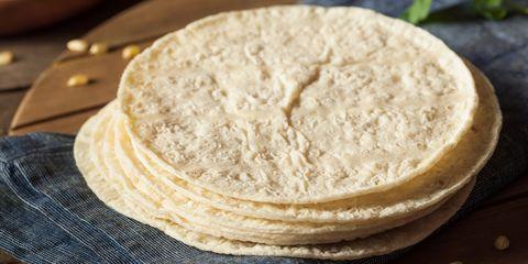 Homemade White Corn Tortillas