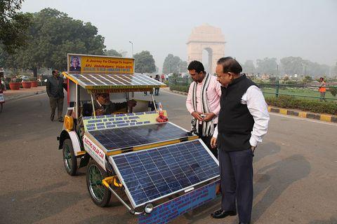 solar panel car india