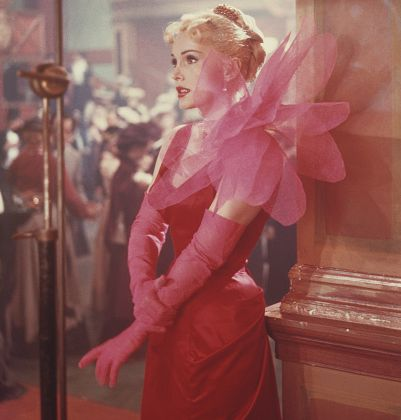 hungarian born american actress zsa zsa gabor as she appears in the film moulin rouge, 1952 she is wearing a dress designed by elsa schiaparelli  photo by archive photosgetty images