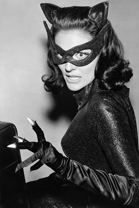 Catwoman, Batman, Supervillain, Fictional character, Costume, Black-and-white,