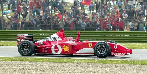 335ad428c5 Michael Schumacher's 2002 Ferrari F1 Car is Coming Up for Sale