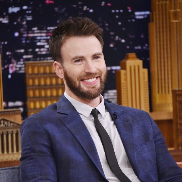 new york, ny   may 03  actor chris evans is interviewed by host jimmy fallon during his visit the tonight show starring jimmy fallon on may 03, 2016 in new york, new york  photo by mike coppolagetty images for nbc