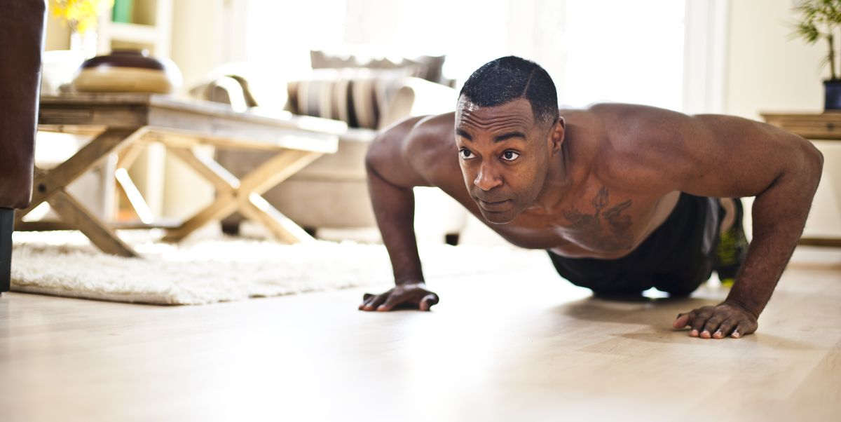 Take on This At-Home Bodyweight Workout, No Matter Your Fitness Level