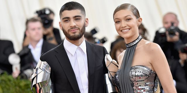new york, ny   may 02  zayn malik l and gigi hadid attend the manus x machina fashion in an age of technology costume institute gala at metropolitan museum of art on may 2, 2016 in new york city  photo by mike coppolagetty images for peoplecom