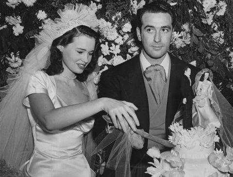Photograph, Wedding dress, Headpiece, Bride, Snapshot, Formal wear, Ceremony, Wedding, Bridal clothing, Event,