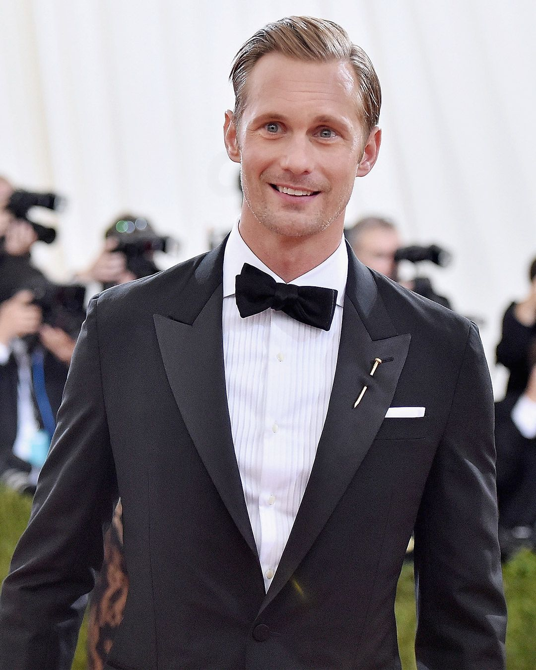 Alexander Skarsgård The Swedish hottie played husband to Kidman on BLL . You were captivated by his intense demeanor and also completely terrified of him.