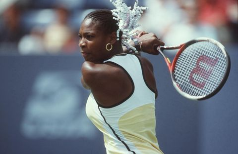 Serena Williams TENNIS: US OPEN 1999